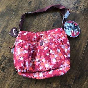 Babymel London Diaper Bag NWT! Orchid Bloom